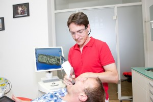 Cerec Behandlung Bluecam
