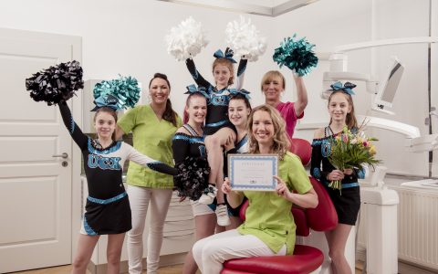 Anne Sauer Lisa Henze Heike Maresch - UCX Cheerleader