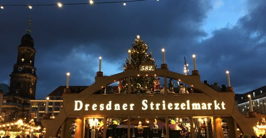 Adventsgruß vom Striezelmarkt